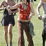 Vanessa Hudgens showed off her Coachella style in 2011.