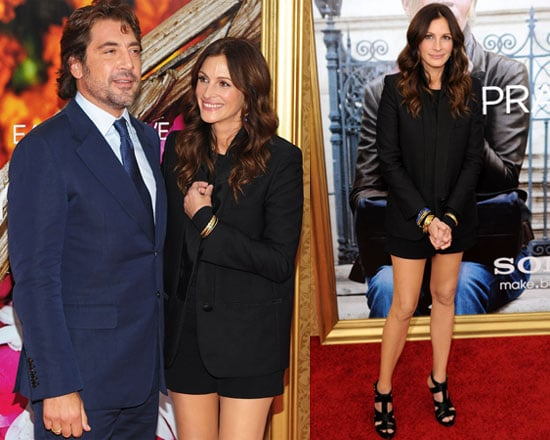 Julia Roberts and Javier Bardem at Eat Pray Love Premiere in New York