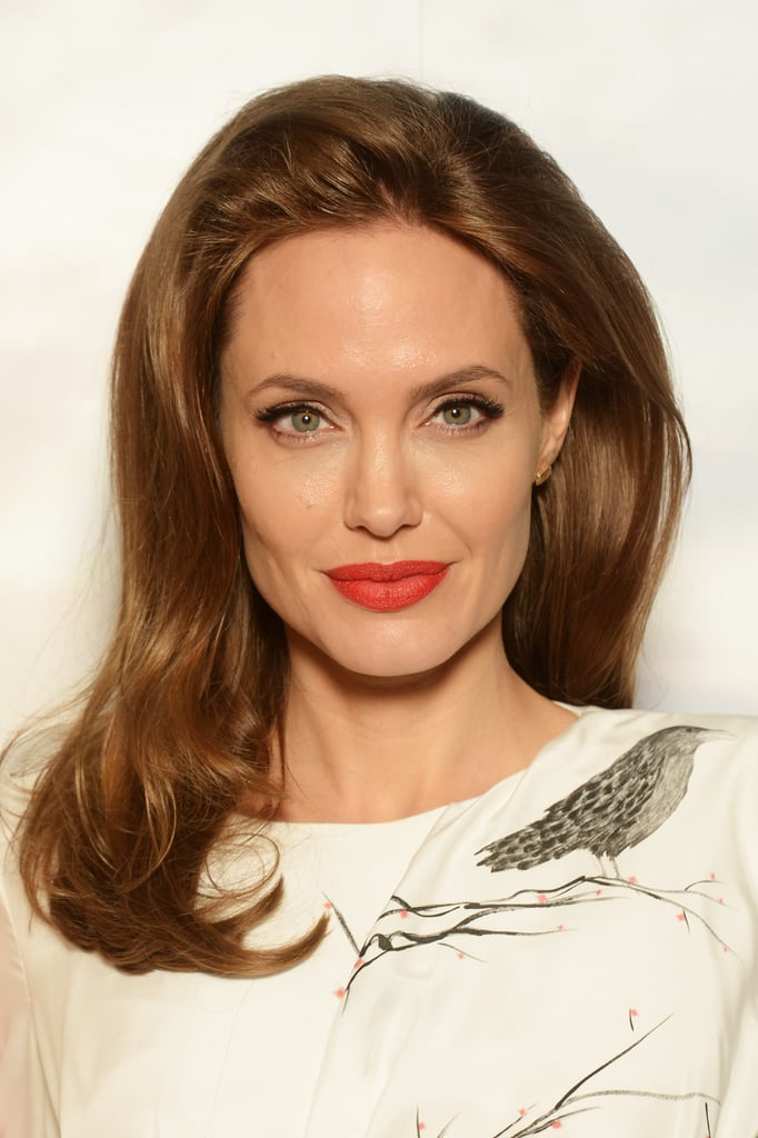 Angelina Jolie Mixes Humanitarian Work With Movie Duties in London