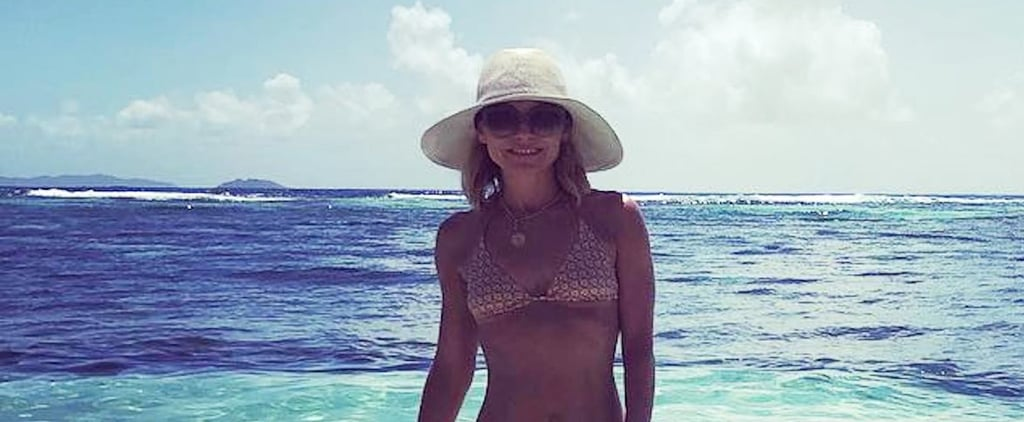 Mark Conselos Responds to Kelly Ripa's Bikini Body Shamers