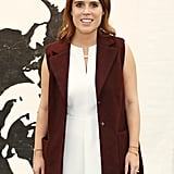 No Ring, but Princess Eugenie Stuck to Her Trademark Bracelets For the 2016 Frieze Art Fair