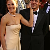 Jennifer Garner and Scott Foley at the 2002 Emmy Awards