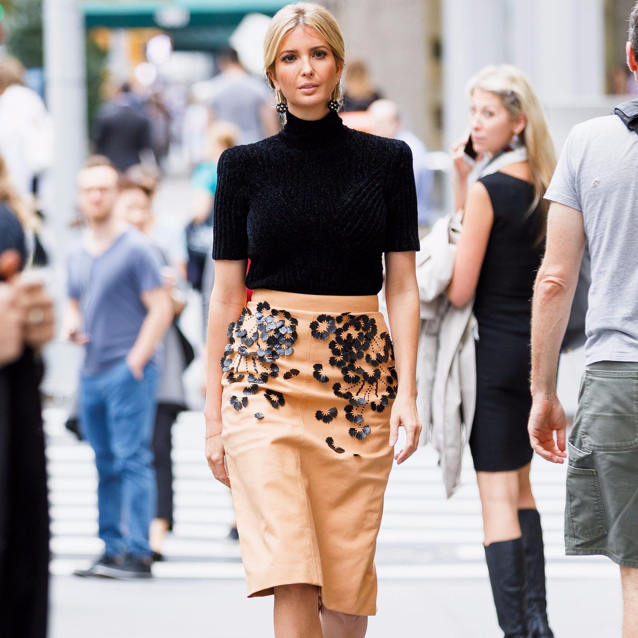 Ivanka Trump Style Evolution Popsugar Fashion