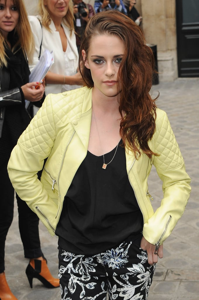 You don't need a staff of hairstylists to pull off Kristen Stewart's signature coif. All you need is a little air-drying time and possibly some texturizer, like Bumble and Bumble's Surf Spray ($15-$24). Style by flipping your hair to one side, scrunching your strands with your fingers. No curling iron required.