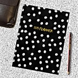 2019 Black and White Dots Planner