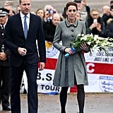 Kate Middleton's Catherine Walker Coat Dress November 2018