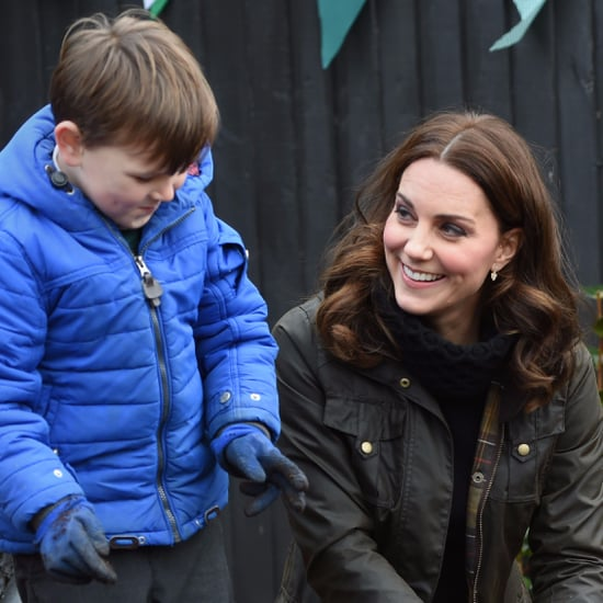 Kate Middleton Visiting Robin Hood Primary School 2017