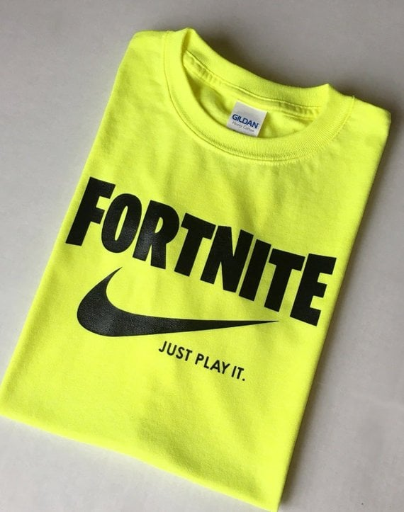 Fortnite Just Play It Tee Fortnite Gifts For Kids And Teens