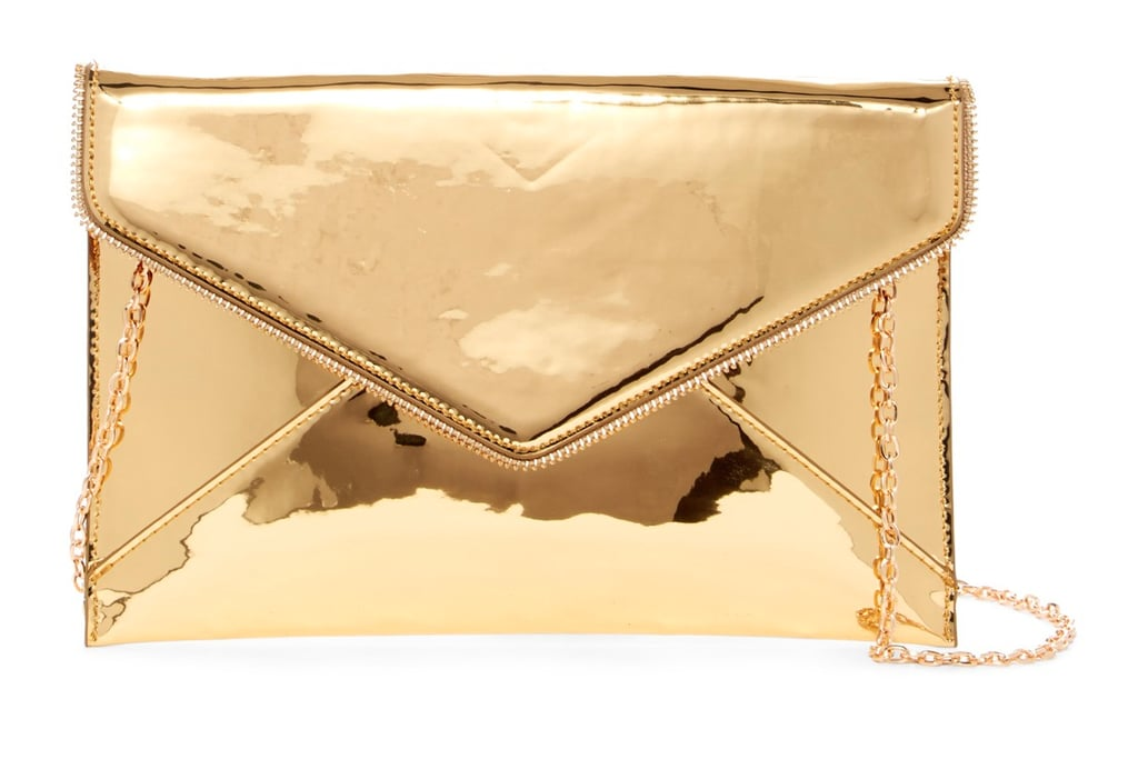 Urban Expressions Vegan Leather Envelope Clutch