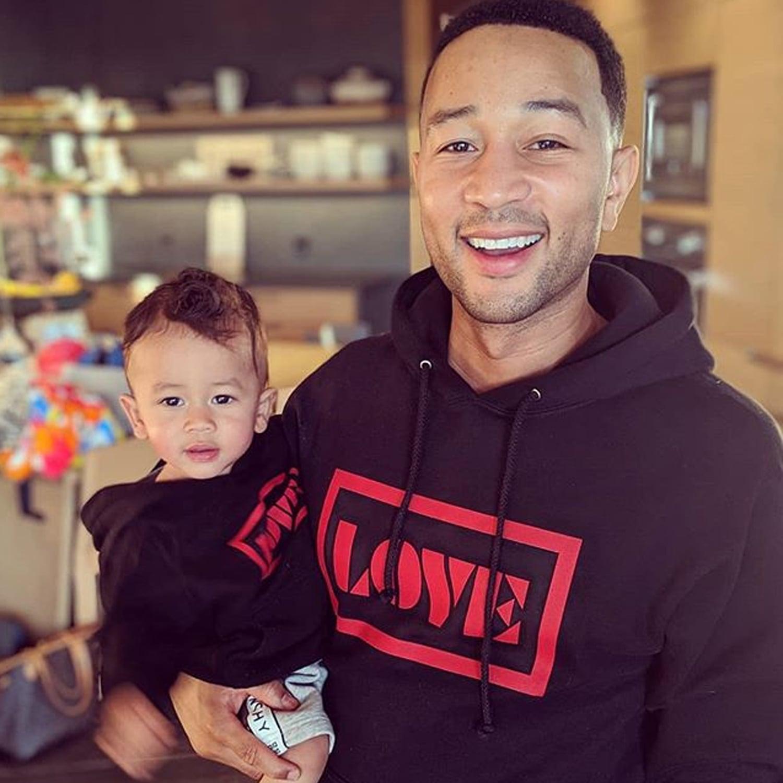 John Legend and Miles Stephens Photos | POPSUGAR UK Parenting