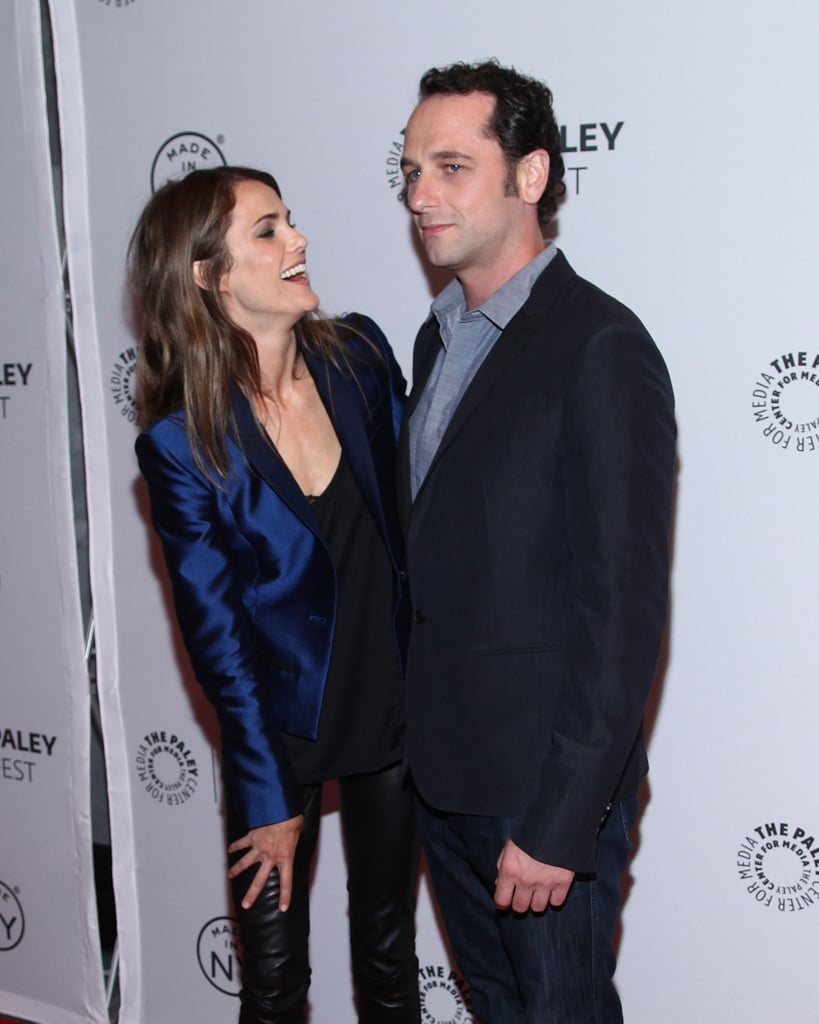Jim Glover On The River >> Keri Russell and Matthew Rhys Cutest Pictures | POPSUGAR ...