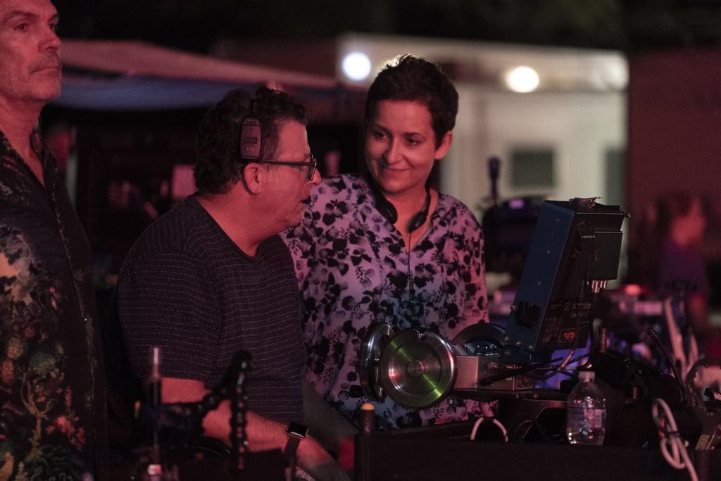 Director Uta Briesewitz on set during season three.