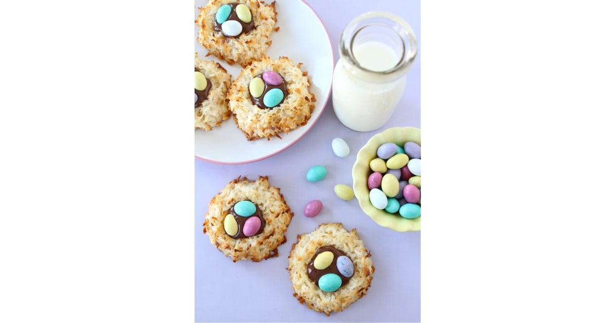 Coconut Macaroon Nutella Nests | Easter Ideas For Kids ...