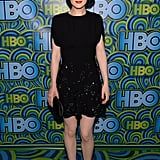 Michelle Dockery traded her floor-length Prada gown for this party-perfect LBD at HBO's Emmys fete.