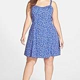 Jessica Simpson Plus-Size Floral-Print Dress