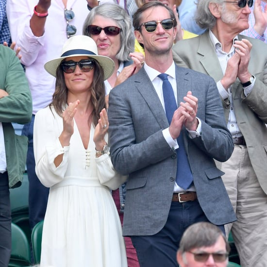 Pippa Middleton Isabel Marant Dress at Wimbledon