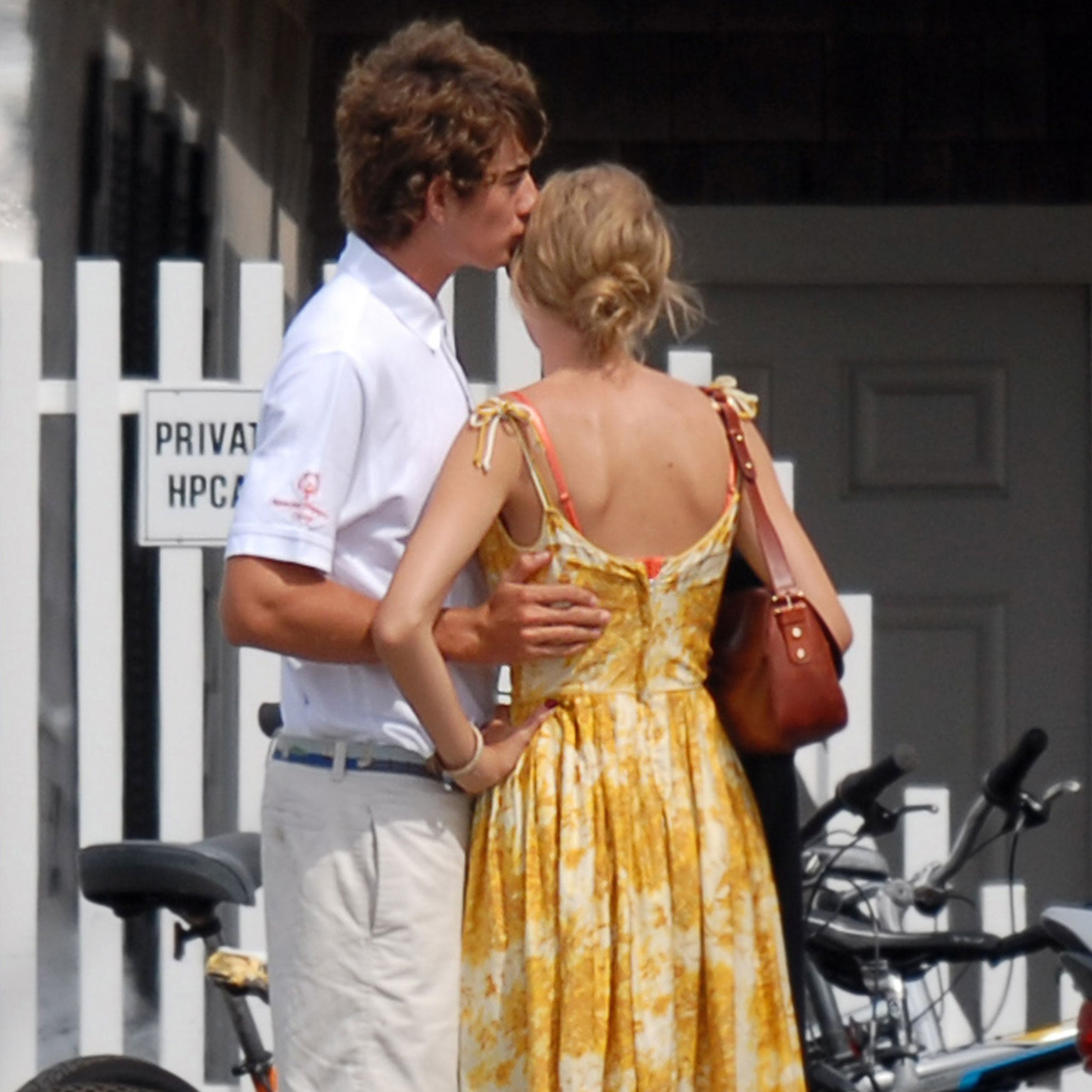Taylor Swift And Conor Kennedy Hugging Pictures Popsugar Celebrity