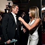Jan. 2020: Brad and Jen Reunite at the SAG Awards
