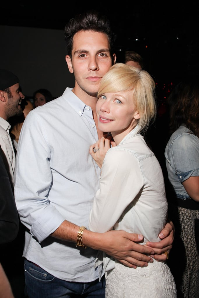 Gabe Saporta and Erin Fetherston at a party thrown by Scott Lipps and Ellen von Unwerth for Vs. Magazine in New York. Source: Angela Pham/BFAnyc.com