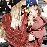 Ashlee Simpson and Daughter Jagger Are 2 of a Kind During Their Ski Trip