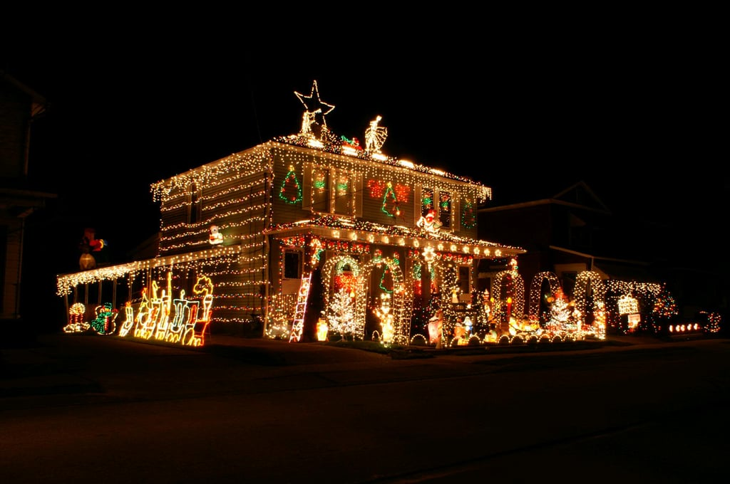Ambridge Pa The Most Decorated Christmas Homes In