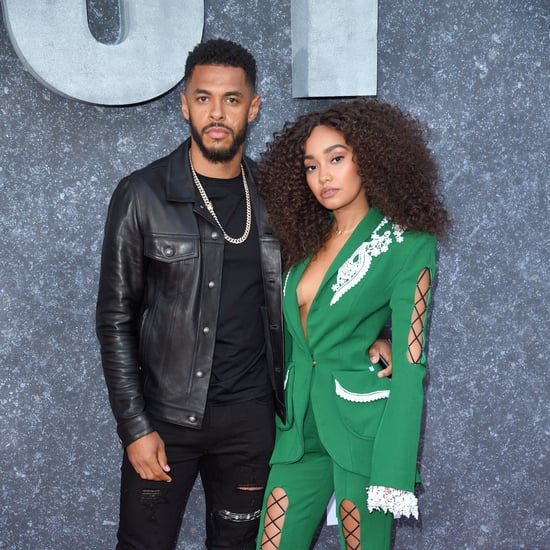 Leigh-Anne Pinnock's Black Diamond Engagement Ring Photo