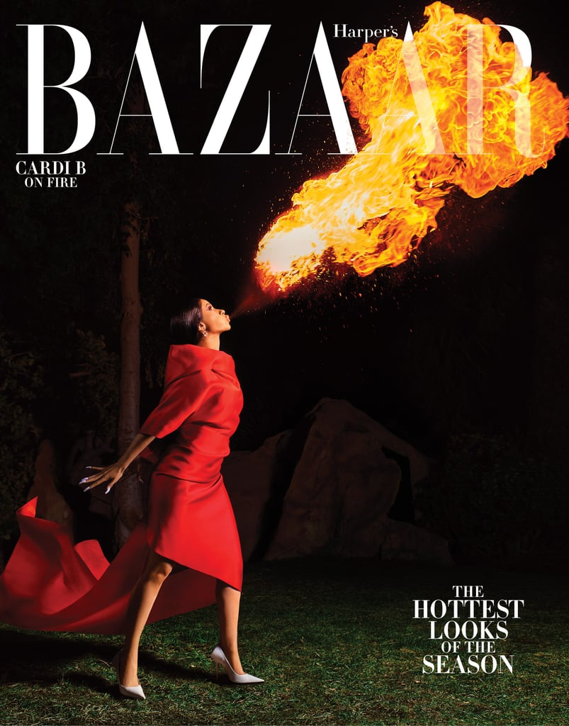 Cardi B in Harper's Bazaar March 2019