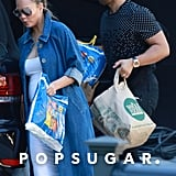 Forget the Super Bowl and Fawn Over Chrissy Teigen's Super Bump