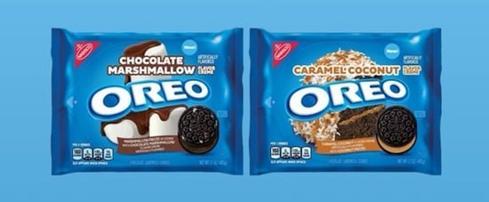 Oreo's New Chocolate Marshmallow and Caramel Coconut Flavors