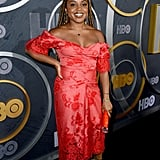 Quinta Brunson at HBO's Official 2019 Emmy After Party