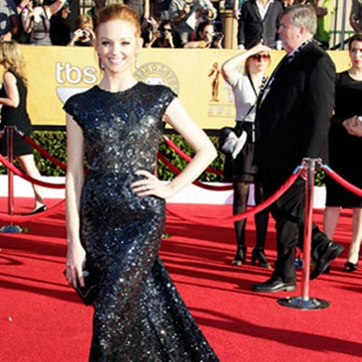 Jayma Mays at the SAG Awards 2012