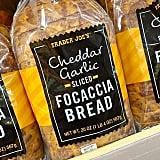 Trader Joe's Cheddar Garlic Sliced Focaccia Bread