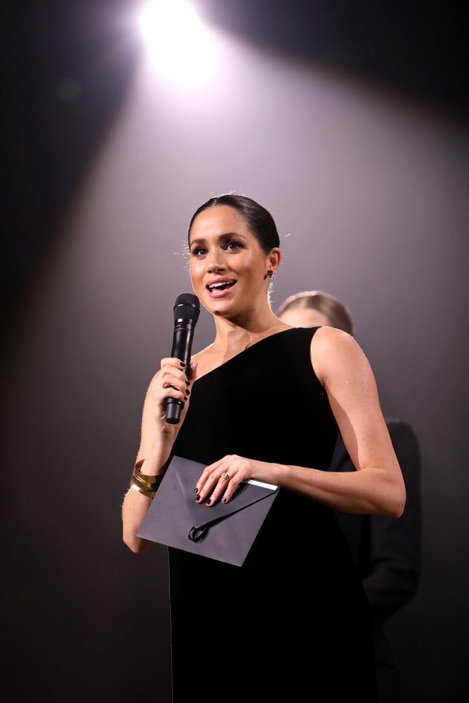Meghan Markle's Jewellery at the 2018 Fashion Awards