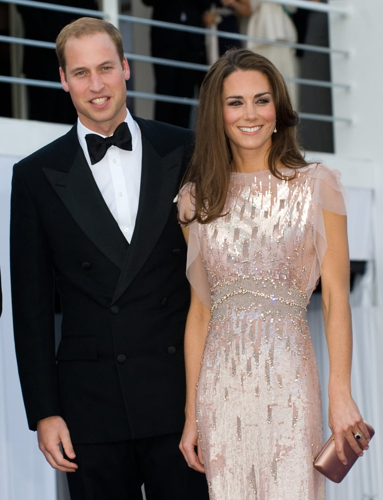 Kate Middleton\'s Evening Gown | Kate Middleton in Sequin Pink ...