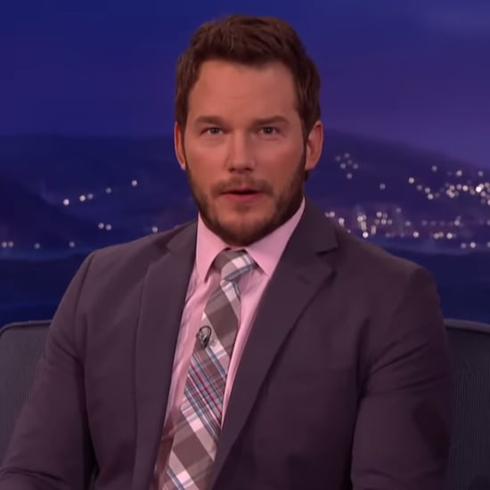Video of Chris Pratt Showing His Facial Expressions on Conan