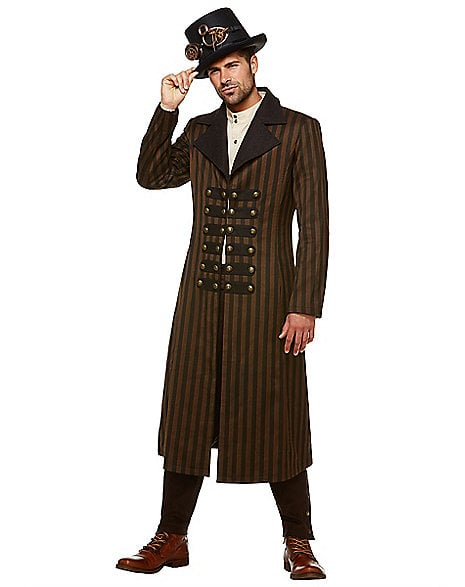 Steampunk Trench Coat ($70)