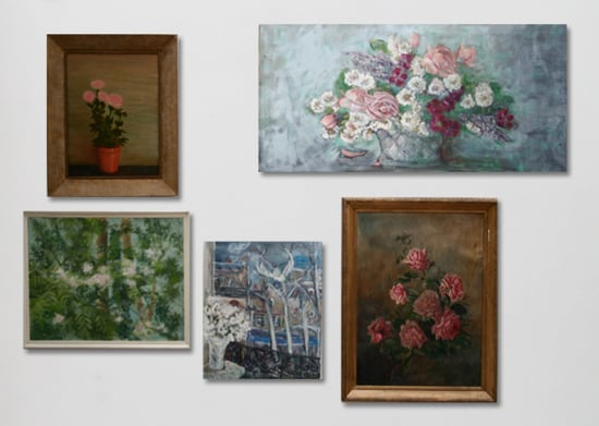 Pimpernel & Partners Floral Paintings (inquire)