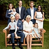 The Kids Posed Gracefully With the Whole Family in Honour of Prince Charles's 70th Birthday