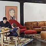 """Decorating a home with children was a welcome challenge for Cliff. """"I think a lot of people get overwhelmed by the idea of things being practical, and they forget that there are options for them to be stimulating and engaging as well,"""" he tells Wayfair. """"Once one has crossed off all the boxes concerning safety, I think everyone should look at what they surround their child with as a goal of making it stimulating and fun, and as an extension of the rest of the home."""""""