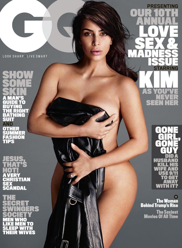Kim Kardashian on the Cover of GQ June 2016