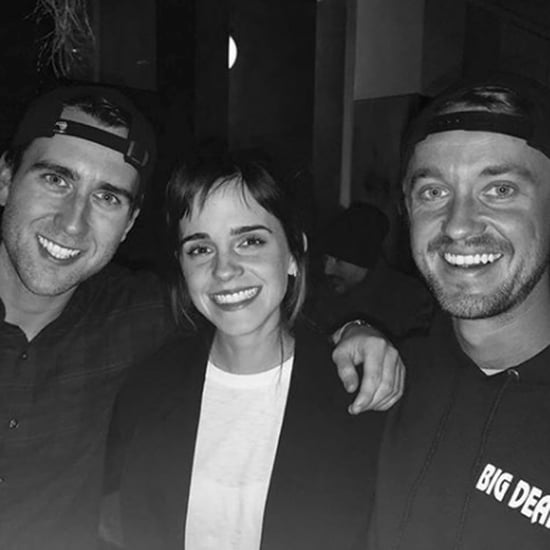 Tom Felton and Emma Watson Harry Potter Reunion 2018