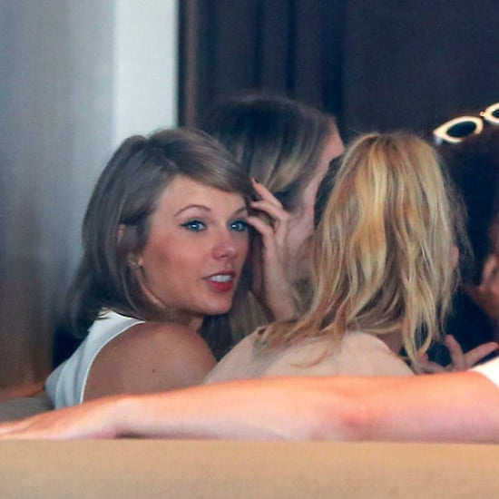 Taylor Swift and Calvin Harris After Jaime King Baby Shower
