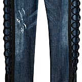 DSQUARED2 Skinny Jeans With Lace-Up Detail ($799)