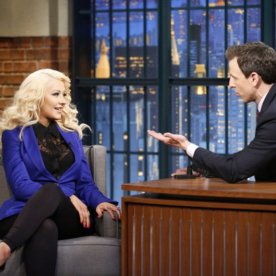 Christina Aguilera Does a Sex and the City Impression