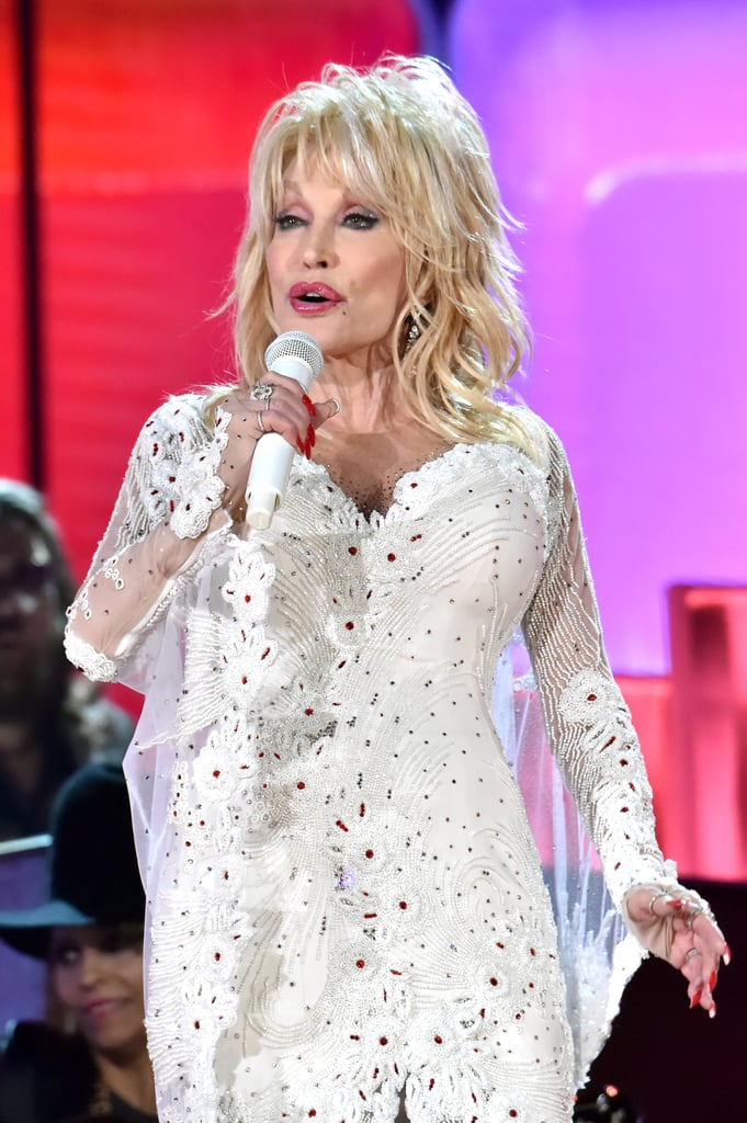 Dolly Parton | Country Singers at the 2019 Grammys ...