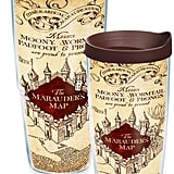 Marauder's Map Wrap Tumbler With Lid