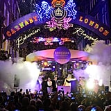 Queen Bohemian Rhapsody Lights on Carnaby Street in London