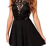 Babula Lace Backless Party Dress