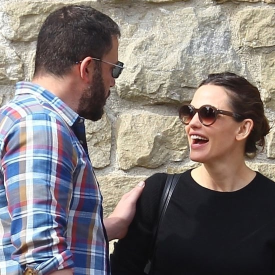 Jennifer Garner and Ben Affleck at Church November 2018