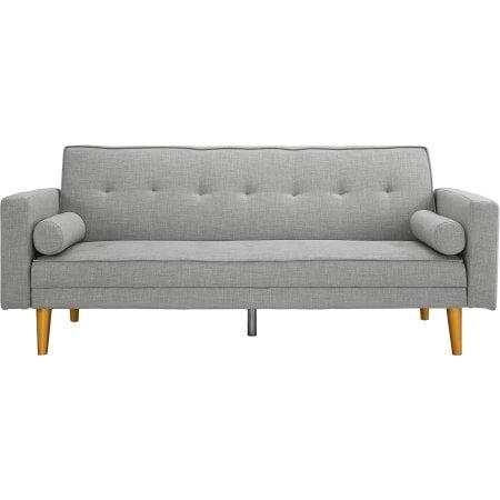 Novogratz Vintage Linen Upholstered Futon
